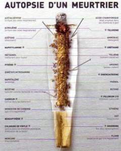 autopsie cigarette