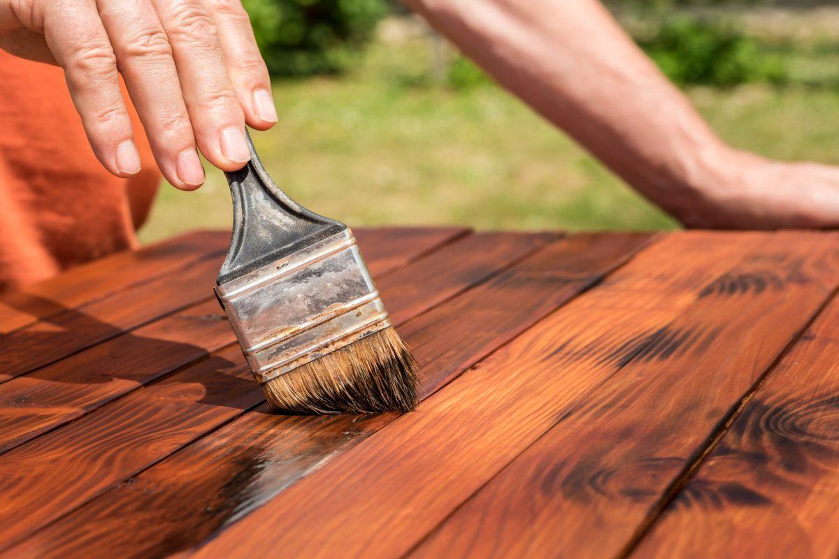 peindre votre bois